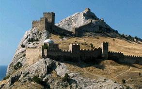 генуэзская крепость,судак